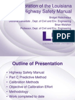 S37_Calibration of Louisiana Highway Safety Manual_LTC2013