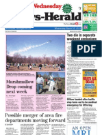 News-Herald Front Page March 20