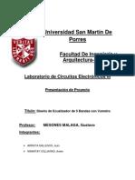 Trabajo de CE III Ecualizador y Vumetro