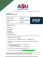 Assignment 1 Mqm6033 Qac 0113