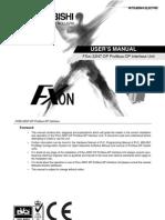 FX0N 32NT DP User's Manual