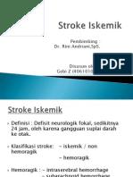 Stroke Ischemic