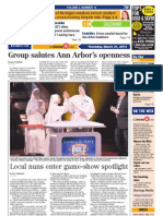 The Ann Arbor Journal front page, March 21, 2013