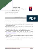 Reglamento Comercio Internacional 2013 SEAD
