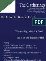 March 4 Faith