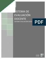Manual s Evaluacion Docente 2011