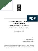 Studija Izvodljivosti Uzgoja Koza u BiH
