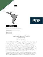 Argentina y La Segunda Guerra Mundial Mitos y Realidades