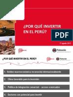 PPT Por Que Invertir en Peru Esp 17-08-2012