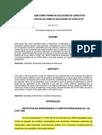A Constitucionalidade Da Lei Brasileira de Arbitragem
