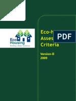 Eco-housing V2 2009 Final