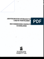 Tank Fertilizer Guide Inspection API 650