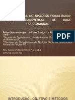 Epidemiologia do distress psicológico