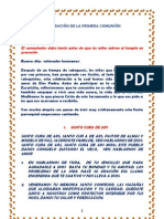 CELEBRACIÓN DE LA PRIMERA COMUNIÓN