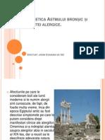 Genetica Astmului Bronsic, Renitei Alergice Si Dermatitei