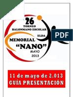 26º Torneo NANO Documento Inicial