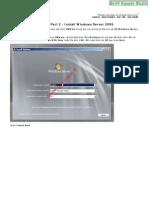 Windows Server 2008 - Part 2 - Install Windows Server 2008 - Smith.N Studio