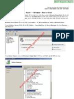 Windows Server 2008 - Part 4 - Windows PowerShell - Smith.N Studio