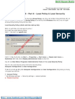 Windows Server 2008 - Part 6 - Local Policy - Local Sercurity Policy - Smith.N Studio