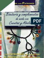 Revista Crea Con Patrones Bisuteria y Complementos de Moda Con Cuentas y Abalorios