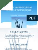 LIMPEZA E DESINFECÇÃO DE ARTIGOS ODONTOLÓGICOS2.ppt