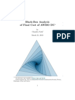 Black-Box Analysis