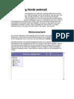 KA Assebroek  Webmail Handleiding