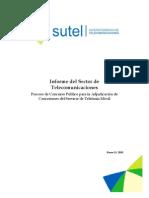 Informe Del Sector de Telecomunicaciones (1)