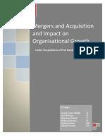 TERM III_Strategic Management_Mergers and Acquisition_Hutch Vodafone_ Ranbaxy Daichi Sankyo