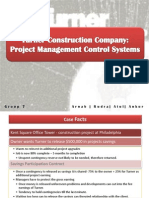 Project Management_Turner Construction Company_Project Management Control Systems