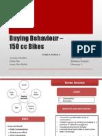 TERMIV_Consumer Behavior_Buying Behaviour –150 cc Bikes