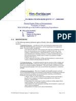 Florida Queue C Application Packet - Indie Films