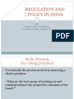 55 Media Regulation and Public Policy in India