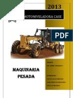 Motoniveladora Case