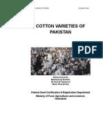COTTON VARIETIES OF PAKISTAN