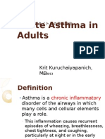 Acute Asthma in Adults