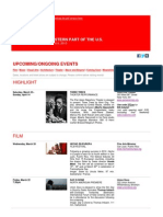 Swiss Events in New York - March 19 - April 9 2013