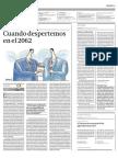 Diario Gestión - Cuando despertemos e el 2060