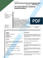 Abnt - Nbr 6814 Fios Cabos Eletricos Ensaio Resistencia Eletrica (1)