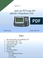 Programação em TI Voyage 200 aplicado à Engenharia