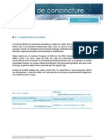 Conjoncture CGPME Mars 2013
