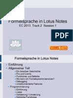 EC13 Formelsprache