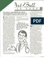 Art Bell After Dark Newsletter 1995-01 - January