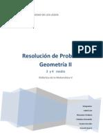 Resolución de problemas Geometría 3er y 4to año medio