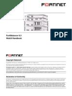 Fortinet WebUI Handbook 8 3