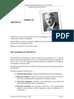 Pensamiento pedagógico de John Dewey