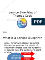 39541543 Service Blue Print of Thomas Cook