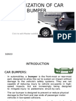 Optimization of Car Bumper