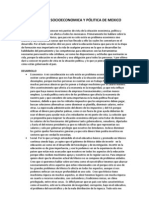 ESTRUCTURA SOCIOECONOMICA Y PÓLITICA DE MEXICO