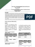 Equilibrio Acido-base Determinacion Acido Acetilsalicilico